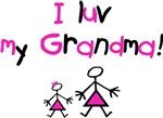 I luv my Grandma (pink)