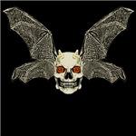 DEVIL BAT SKULL clear