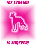 Pink Breed Silhouettes