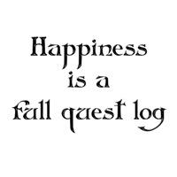 Full quest log