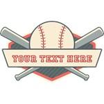 Personalized Retro Baseball