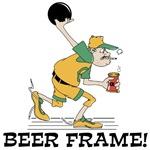 Bowling Beer Frame