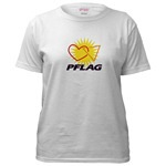 Click here for<br>PFLAG Logo Short Sleeve Shirts