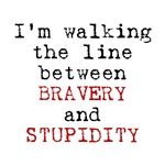 Bravery or Stupidity