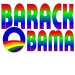 Colorful Barack Obama