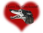 I Love My Greyhound Valentine
