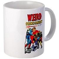 Mugs - science fiction and various vintage graphic