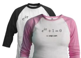 Euler's Identity Apparel