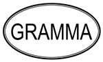 Oval: <strong>Gramma</strong>