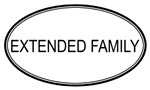 Oval: <strong>Extended</strong> <strong>Family</strong>