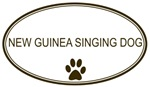 Oval <strong>New</strong> <strong>Guinea</strong> <strong>Singing</strong> <strong>Dog</strong>