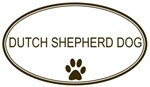 Oval <strong>Dutch</strong> <strong>Shepherd</strong> Dog