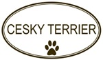 Oval <strong>Cesky</strong> <strong>Terrier</strong>
