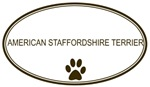 Oval American Stafford<strong>shi</strong>re Terrier