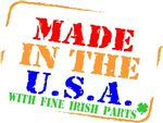 Made in The USA Irish