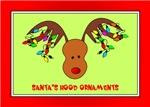 Santa's Hood Ornament