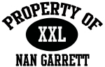 Property of Nan Garrett