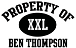 Property of Ben Thompson
