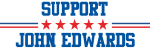 Support JOHN EDWARDS