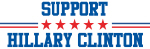 Support HILLARY CLINTON