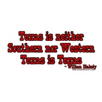 Texas is Niether Southern Nor Western Texas is Tex
