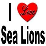 I Love Sea Lions