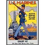 US Marines Service