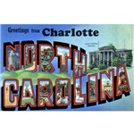 Charlotte North Carolina Greetings