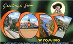 Cody Wyoming Greetings