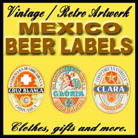 Mexico Vintage Beer Labels