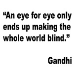 Gandhi Quote on Revenge