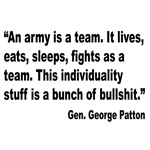 Patton Army Team Quote
