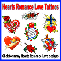 Hearts Romance Love Tattoos