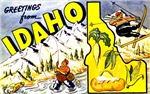 Idaho State Greetings