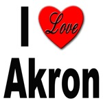 I Love Akron Ohio