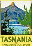Tasmania Travel Poster 1