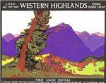 Scotland Travel Poster 1