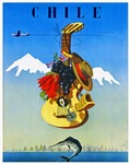Chile Travel Poster 1