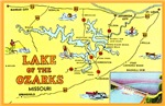 Lake of the Ozarks Map