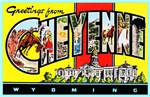 Cheyenne Wyoming Greetings