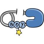 Diaper Pin Boy