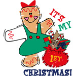 My 1st Christmas (Girl)