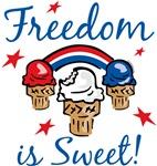 Freedom Is Sweet