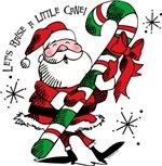 Santa Raising Cane