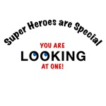 SUPER HEROES ARE SPECIAL MEN'S T-SHIRTS