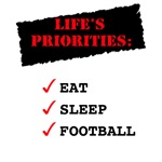 LIFE'S PRIORITIES - T-SHIRTS
