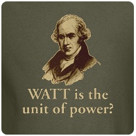Watt is the unit of power?