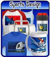 Sports Designs t-shirts & gifts