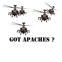 Got Apaches?Cool gifts for him this Christmas
