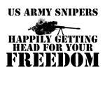 US ARMY SNIPER FUNNY SLOGAN CLOTHING